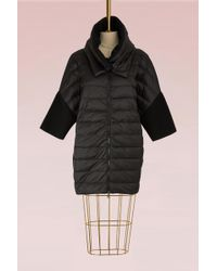 Moncler - Wool And Duvet Down Jacket - Lyst
