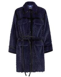 Fendi Mink Coat - Blue