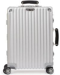 Rimowa Classic Cabin S luggage - Metallic
