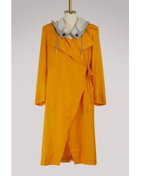 AALTO - Hooded Trench Coat - Lyst