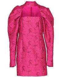 ROTATE BIRGER CHRISTENSEN Kaya Dress - Pink
