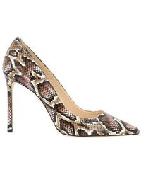 Jimmy Choo Romy 100 Court Shoes - Metallic