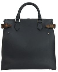 Louis Vuitton Zipped North South Tote - Black