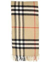 Burberry Giant Check Icon Cashmere Scarf - Multicolour