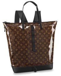 Louis Vuitton Zipped Tote - Brown