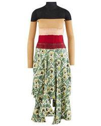 Loewe Needle Punch Dress - Multicolor