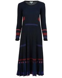 KENZO Striped Dress - Black