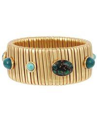 Gas Bijoux Armband Strada groß - Blau