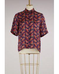Roseanna - Silk Kinney Shirt - Lyst