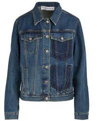 JW Anderson Shaded Pockets Denim Jacket - Blue