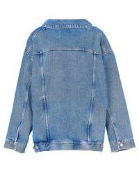 Balenciaga Vareuse Jacket - Blue