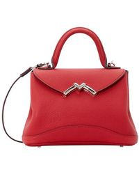 Moynat Mini Gaby Handbag - Red