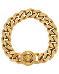 Versace Medusa Bracelet - Metallic