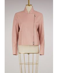 Sportmax - Higher Leather Jacket - Lyst