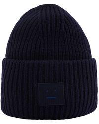 Acne Studios Pansy Hat - Blue