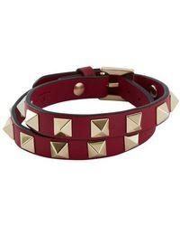 Valentino - Valentino Garavani Rockstud Double Bracelet - Lyst