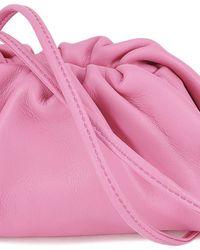 Bottega Veneta Pink Nappa Coin Purse