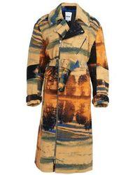 Koche Teddy Bear Coat - Multicolour