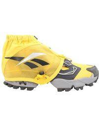 Reebok Instapump Sneakers - Yellow