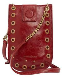 Vanessa Bruno Phone Pouch - Red