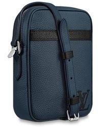 Louis Vuitton Sac Danube Slim Petit Modèle - Bleu