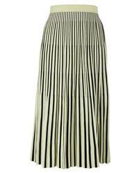 Proenza Schouler Long pleated skirt - Schwarz