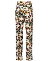 La DoubleJ Pantalon Anna - Multicolore
