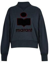 Étoile Isabel Marant Sweatshirt Moby - Blau
