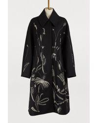 Dries Van Noten - Coats Fw18 Floral-embroidered Coat - Lyst