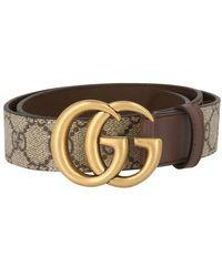 Gucci Gürtel GG Marmont - Mehrfarbig