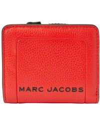 "Marc Jacobs Portefeuille ""Min Compact"" - Rouge"