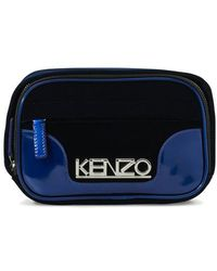 KENZO Sac ceinture Kyoto 'Capsule Holiday' - Bleu