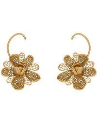 Alberta Ferretti Earrings - Metallic