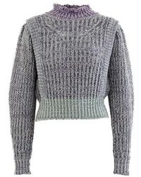 Étoile Isabel Marant Lexie Roll-neck Sweater - Gray