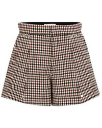 Chloé Wool Shorts - Multicolor