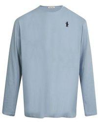 Marni T-shirt manches longues - Bleu
