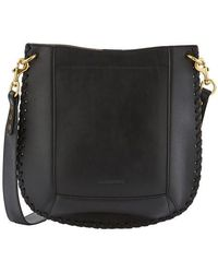 Isabel Marant Oskan New Cross Body Bag - Black