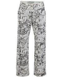Off-White c/o Virgil Abloh Graphite Jeans - White
