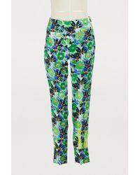 Prada - Printed leggings - Lyst