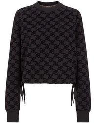 Fendi Jersey Sweatshirt - Black