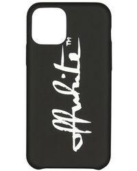 Off-White c/o Virgil Abloh Coque portable - iPhone 11 Pro - Noir