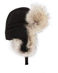Canada Goose Chapka Aviator Hat - Black