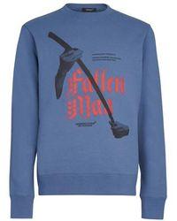 Undercover Fallen Raven T-shirt - Blue