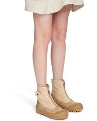 JW Anderson Combat boots - Neutre