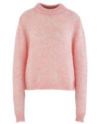Roseanna Round-neck Sweatshirt - Pink