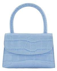 BY FAR Mini Sky Blue Bag