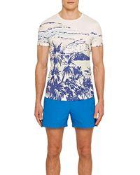 Orlebar Brown T-shirt Ob-t Pop Diver à col rond - Bleu