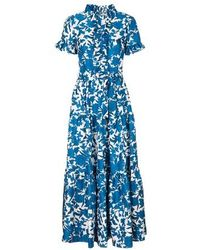 La DoubleJ Long & Sassy Dress - Blue