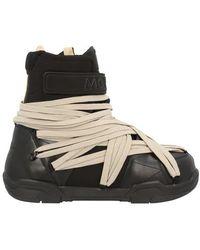 Rick Owens X Moncler - Bottes de neige Amber - Noir