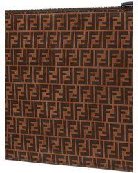 Fendi Flat Pouch Medium - Brown